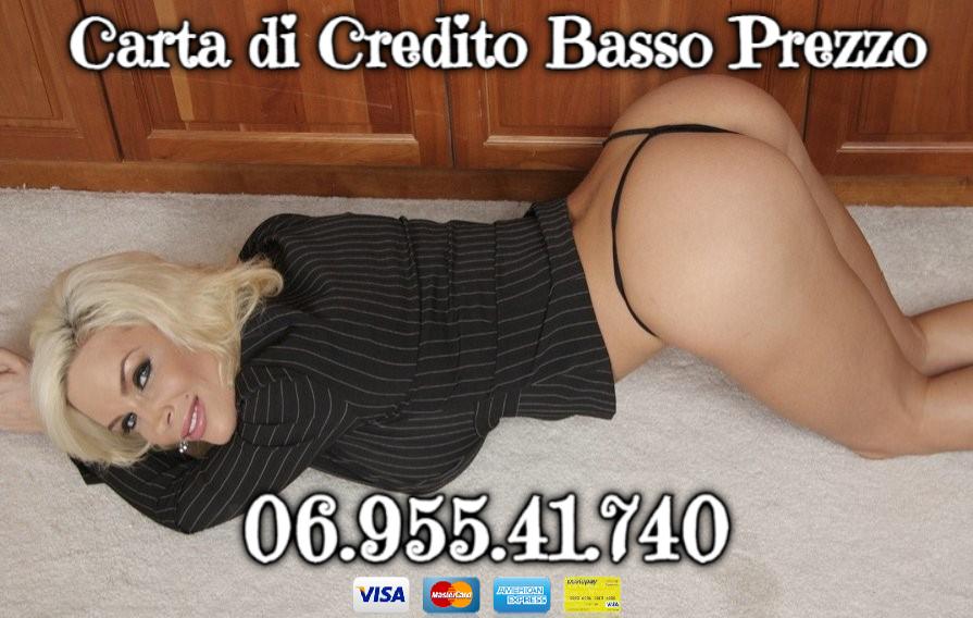 numeri erotici sesso carta credito